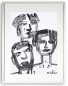 Preview: Three of us No 1/ Some of us 2015  | 40x30 | Rolant de Beer