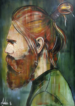 Red Beard 2016 | 140x100 cm | André Wendland
