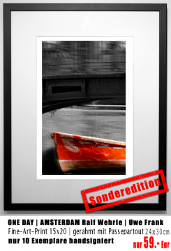 Sonderedition 15x20 | ONE DAY AMSTERDAM