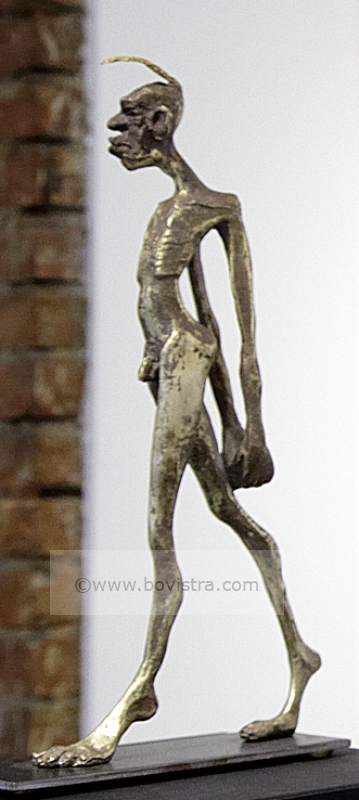 FEMINIST | Tim David Trillsam 2013 Bronze, 24 x 12 x 7 cm Limited edition 9+2 E.A.